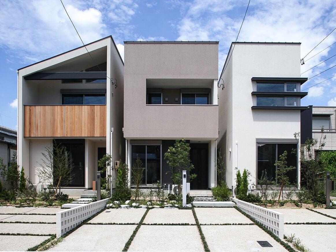 KAZA DESIGNのデザイン分譲住宅