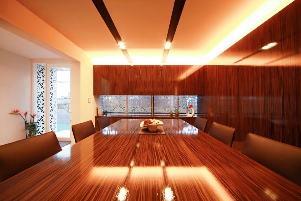 KAZA DESIGN中川本社のオフィス風景