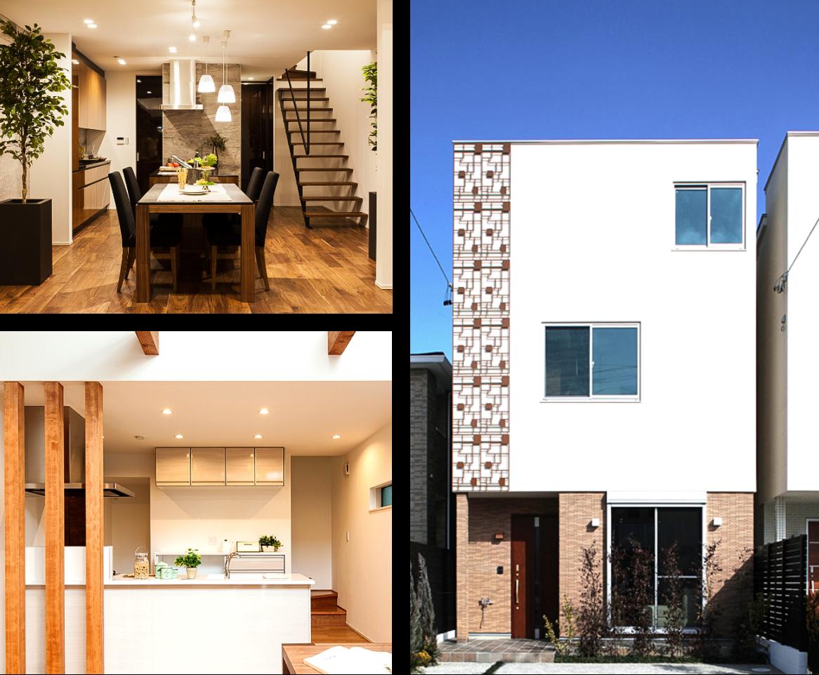 KAZA DESIGNのモデルハウス機能を兼ねた建売住宅