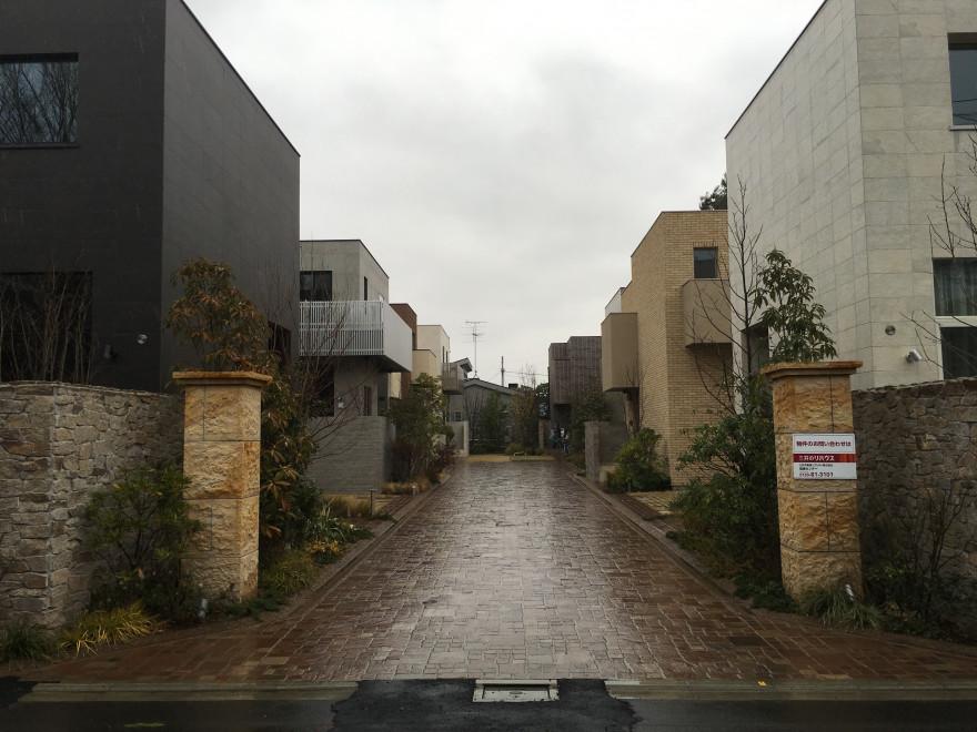 世田谷区成城の景観