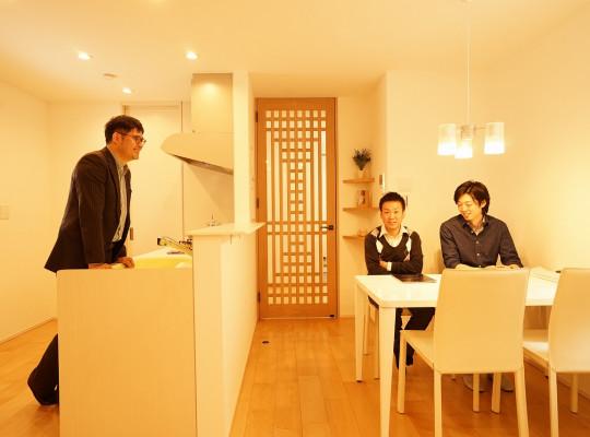 中川区の分譲住宅にてカメラ講習