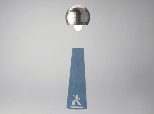 真鍮製風鈴 「ミラーボール」