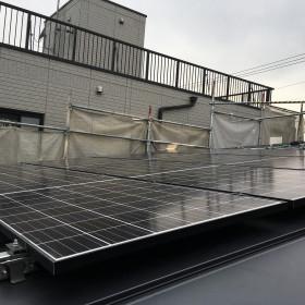 中村区の注文住宅「O様邸」太陽光工事