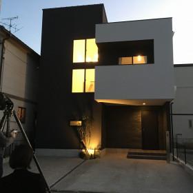 中川区の注文住宅、「コモレル中二階」撮影