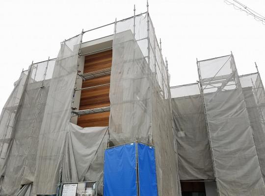 瀬戸市注文住宅「窓から青空を望む家」進捗状況