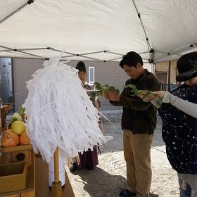 中村区注文住宅「M様邸」地鎮祭