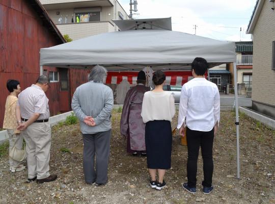 名古屋市中村区『H様邸』地鎮祭