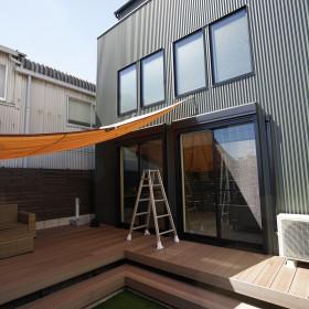 「Outdoor house アスレチックのある家」オープン準備