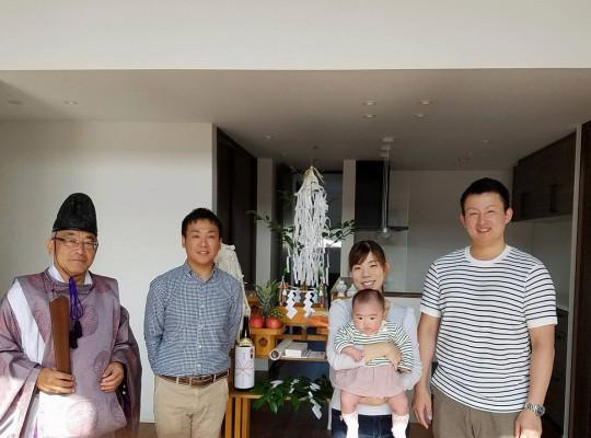 中村区注文住宅「I様邸」竣工祭