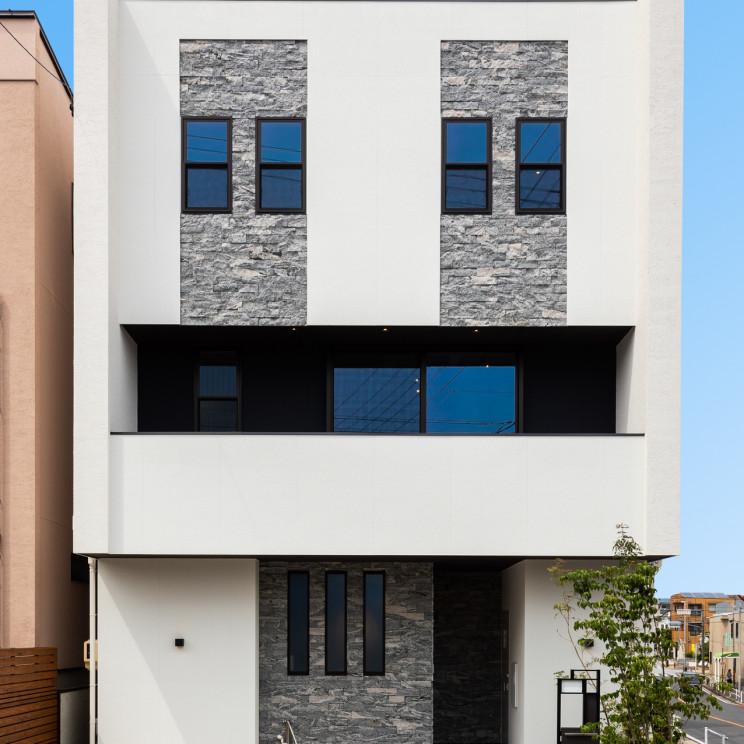 White Modern Luxury House