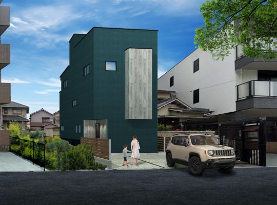「ウインドヒルズ岩塚駅~イエアソビができる家~」モデルハウス計画公開致しました。