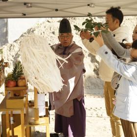 中川区「M様邸」地鎮祭