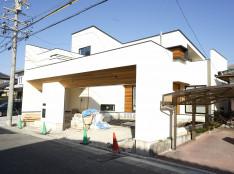 中川区注文住宅「G様邸」外観が公開となりました。