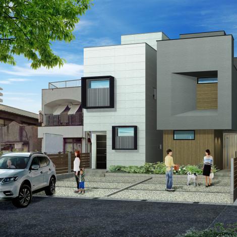 「ウインドヒルズ烏森駅~松葉町の家~」販売開始致しました。
