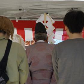 中村区注文住宅「K様邸」地鎮祭