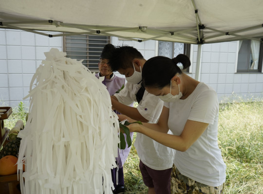 中川区の注文住宅「S様邸」地鎮祭